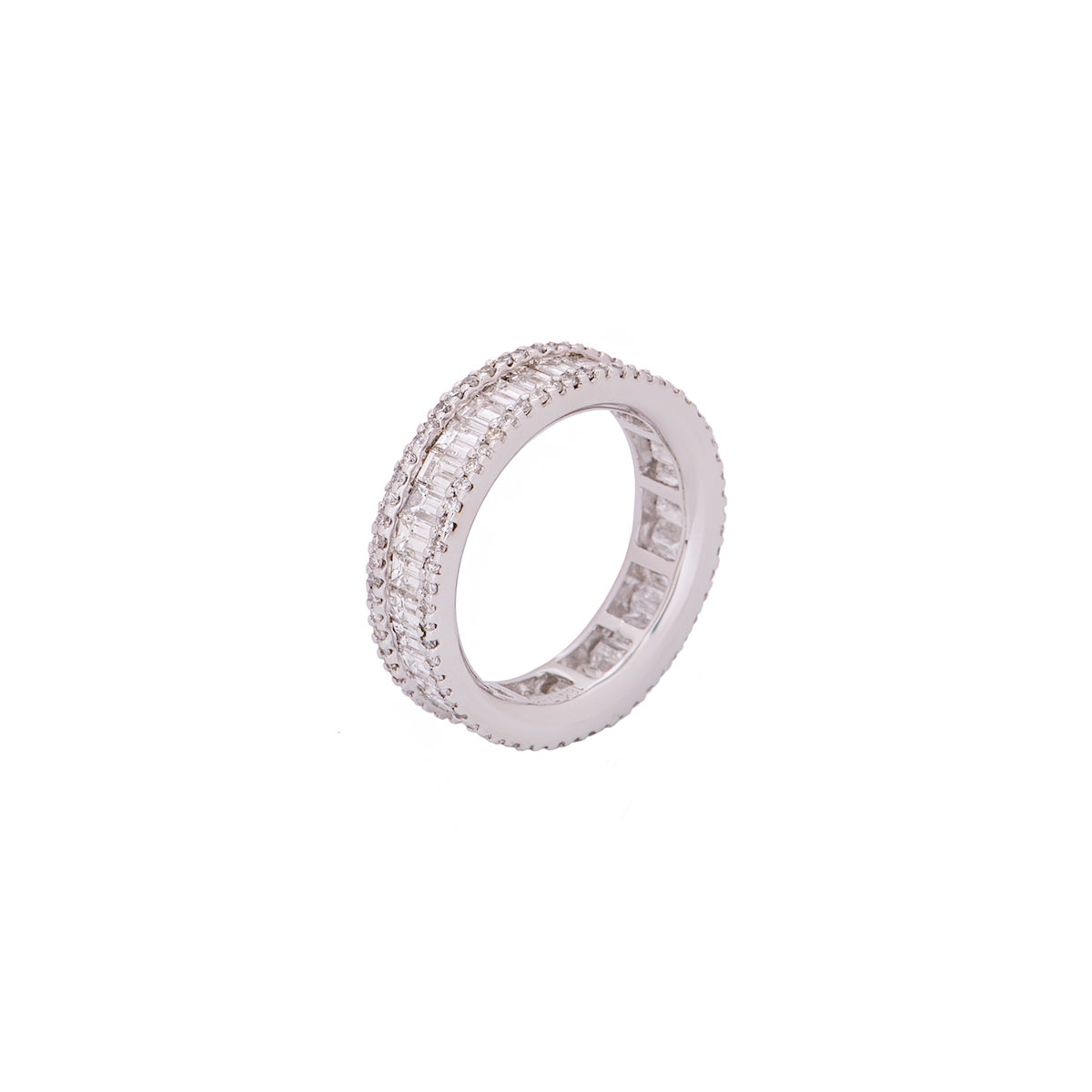 White Gold Diamond Full Eternity Ring